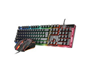 Trust Gaming Combo Silber