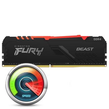 Kingston Fury Beast RGB 8GB DDR4-3200
