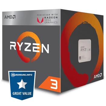 AMD Ryzen 3 2200G - Quad Core