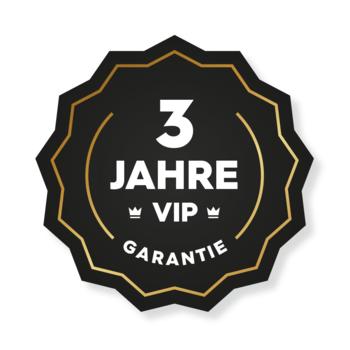 3 Jahre VIP Garantie