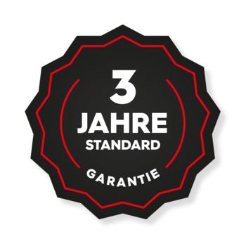 3 Jahre volle Garantie (GRATIS)